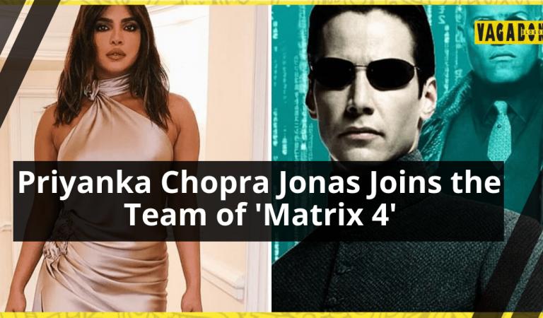 Desi Girl To Star Opposite Keanu Reeves in Matrix 4.