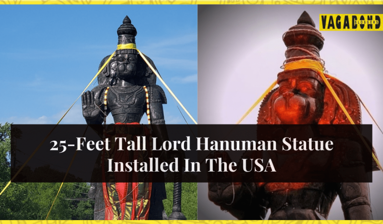 The USA gets its Tallest Hanuman Statue in Delaware.