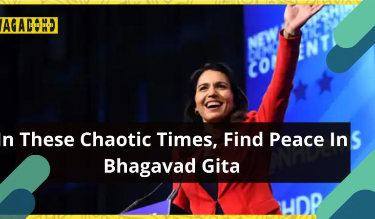 US Congresswoman Tulsi Gabbard urges to find solace in Bhagavad Gita amidst such testing times