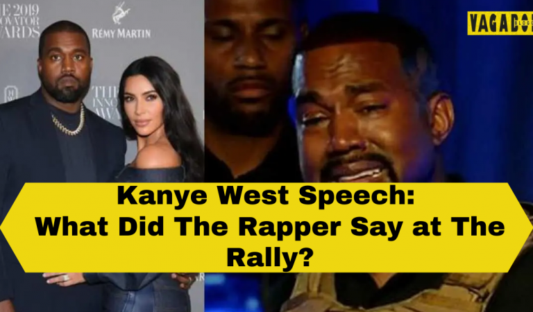 Kanye West Breaks Down Explaining Anti-Abortion Stance at Presidential Rally: 'I Almost Killed My Daughter'