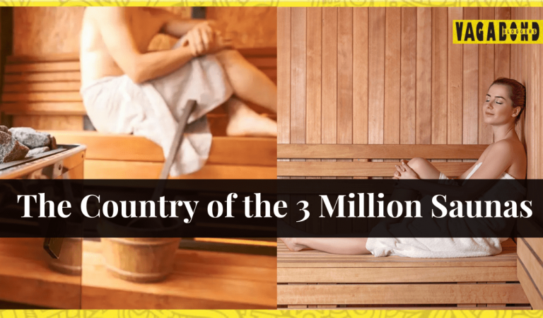 The country of the 3 million saunas.