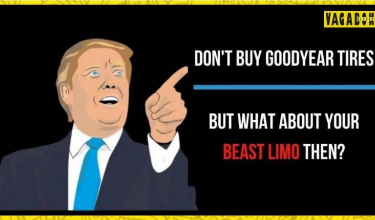 Trump's Limo, 'The Beast,' Equipped with Goodyear tires – Said To boycott
