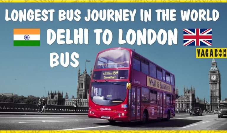 """From Delhi to London – """"Bus"""". Get on this Unique trip for 2021!"""