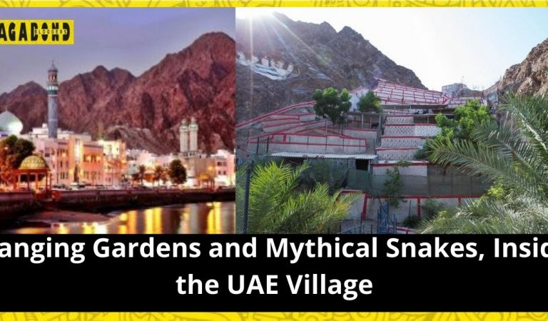 Hanging gardens and mythical snakes, inside the UAE village within Oman