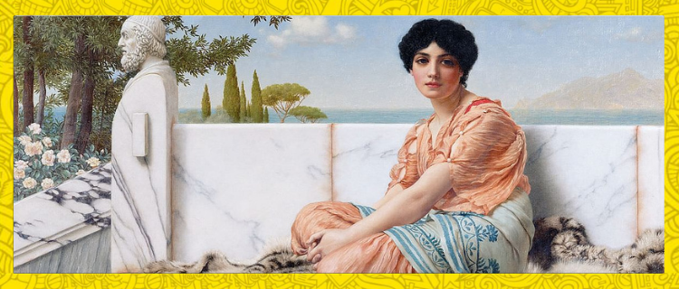 Sappho- History's First Erotic Poet Left Only Fragments Of Her Legacy Behind
