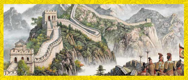 The Vivid History Of The Great Wall Of China